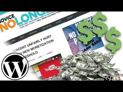 Making Money from Blogging with WordPress