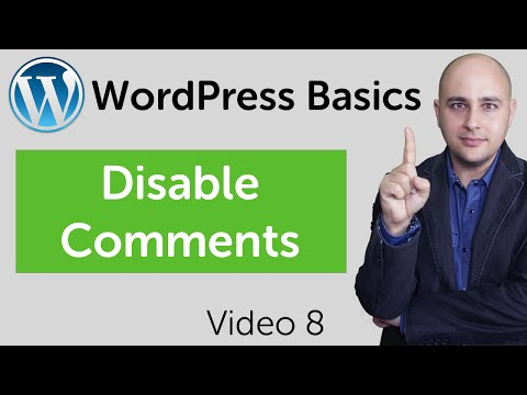 How To Disable Comments In WordPress Pages And Posts