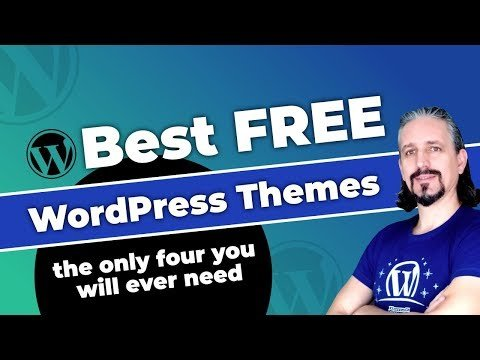 Best Free WordPress Themes (The Only Four You Will Ever Need)