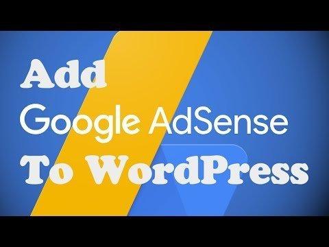 Add Google ADSENSE to WordPress Without a Plugin
