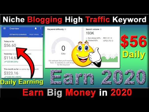 #9 Keyword Research For Niche Blogging &Ahref keywords high volume