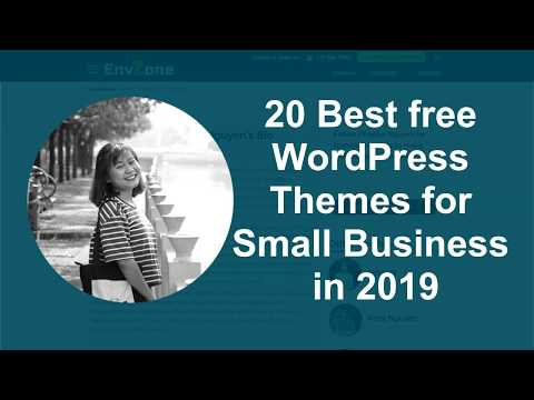 20 Best free WordPress Themes for Small Business in 2019