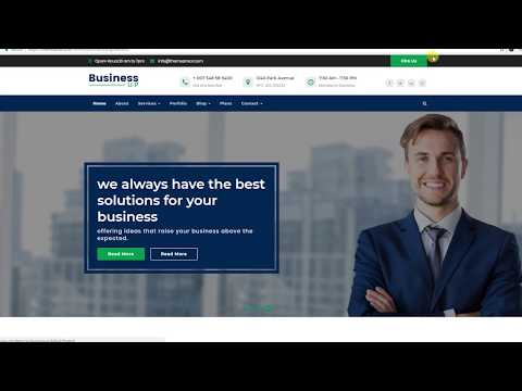17 Best WordPress Business Themes Free to Build Business Website