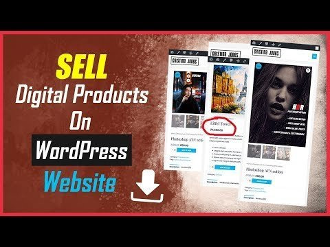 How to sell digital products on wordpress with paypal