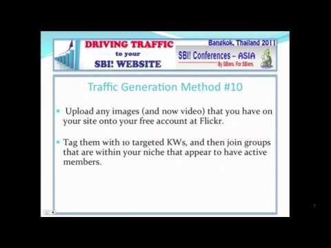 How to Get Website Traffic using Online Photo Sharing Sites