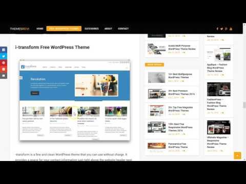 20+ Top Free Magazine WordPress Themes