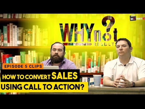How to convert sales using call to actions